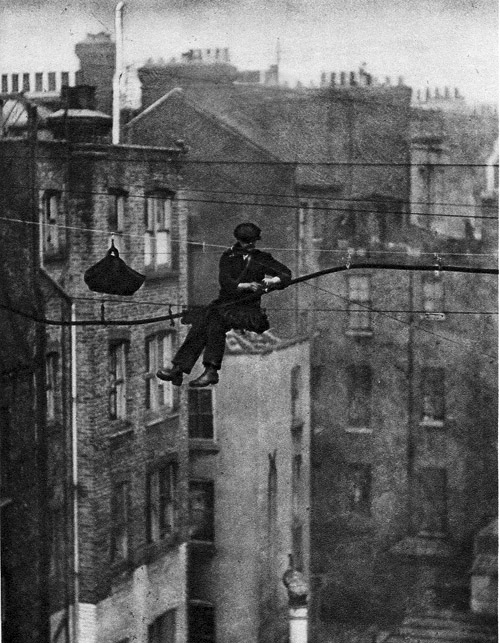 Telephone Engineer, London, ca. 1920s