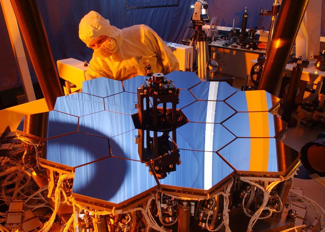 Как собирали телескоп Уэбба зеркала, телескопа, чтобы, сегмента, будет, который, зеркало, заготовки, площади, можно, которые, «Хаббл», температурах, этого, должен, бериллия, сегментов, масса, света, контейнер