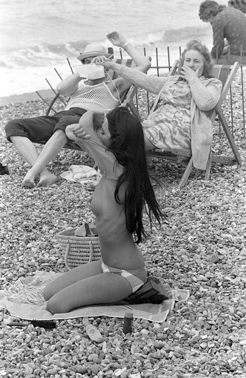 Пляжные сцены