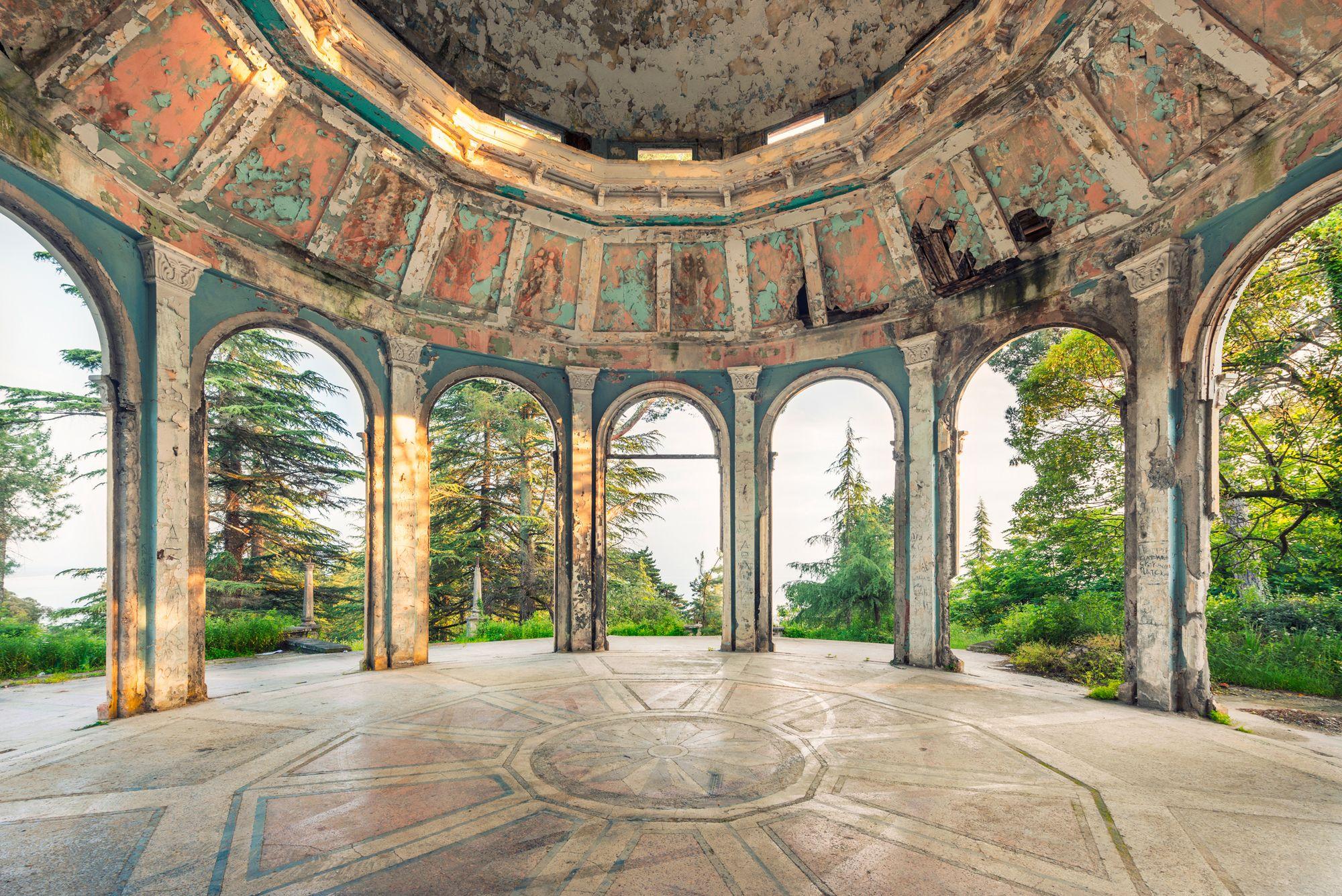 Абхазия. Райское место