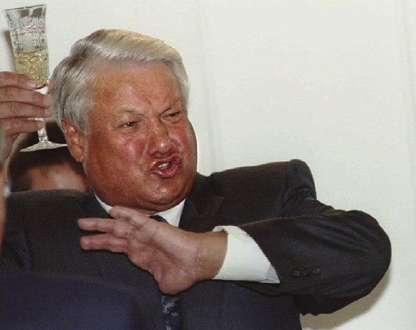 Ельцин vs Путин