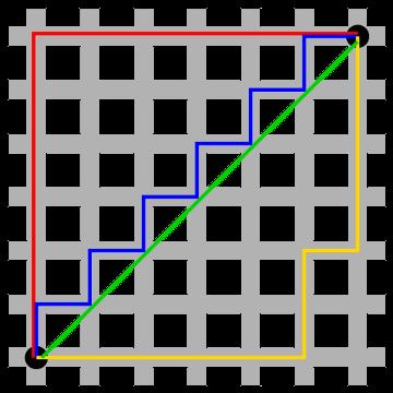 геометрия таксиста