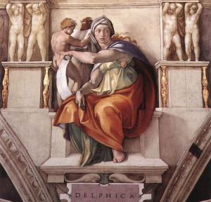 Микеланджело. Сибилла