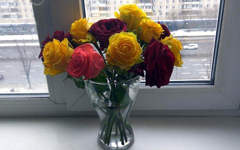 Розы для меня.