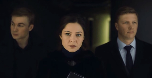 Нина Нестерова (Елена Лядова) с помощниками.