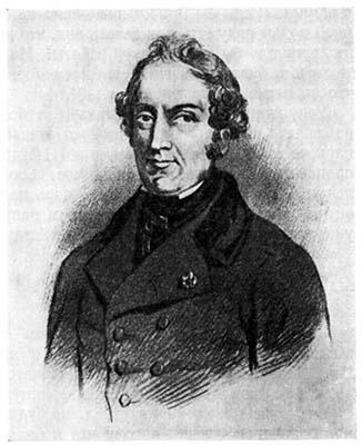 Портрет Эрнеста де Баранта в возрасте. Он умер в 41 год. Изображения молодого Баранта нет.