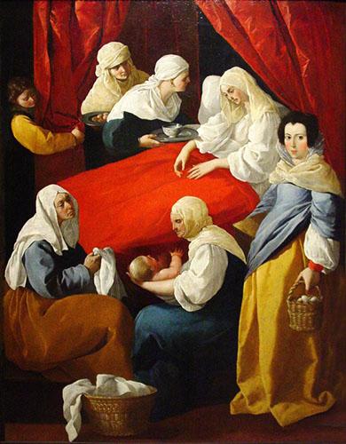 Франсиско де Сурбаран. Рождество Девы Марии.jpg