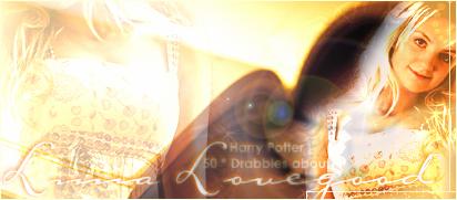 50 drabbles about Luna Lovegood