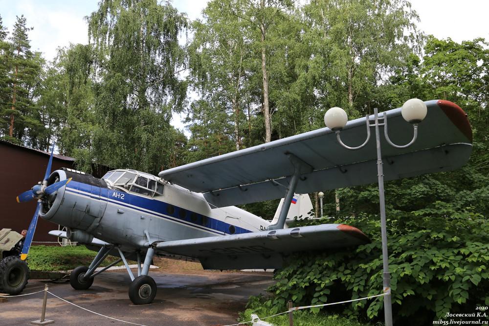 Ан-2 из Зеленогорска самолёты,Ленинградская область,авиация,музей,Ан