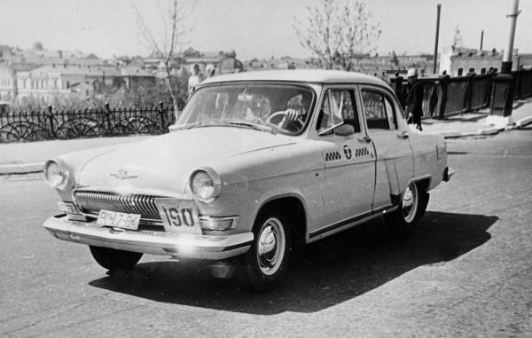 Вспомним сегодня, старое омское такси