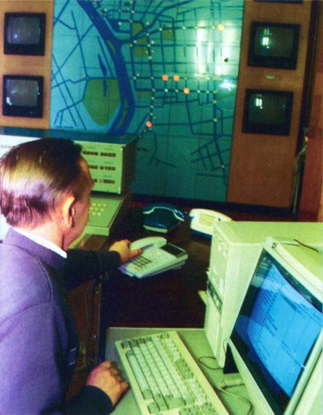ЦУП системы управления светофорами
