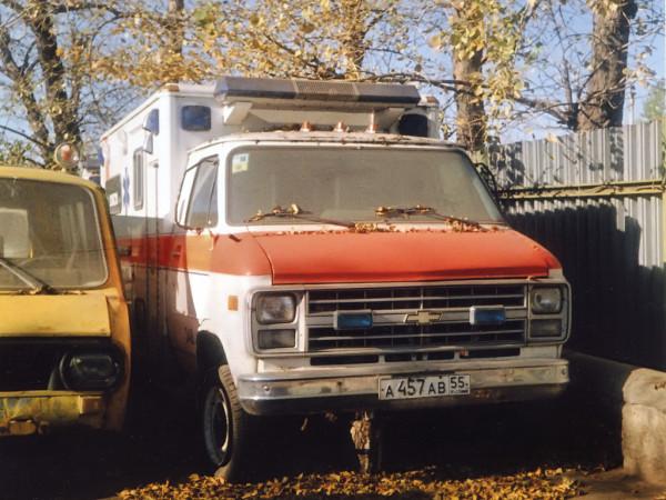 Chevy van АСМП