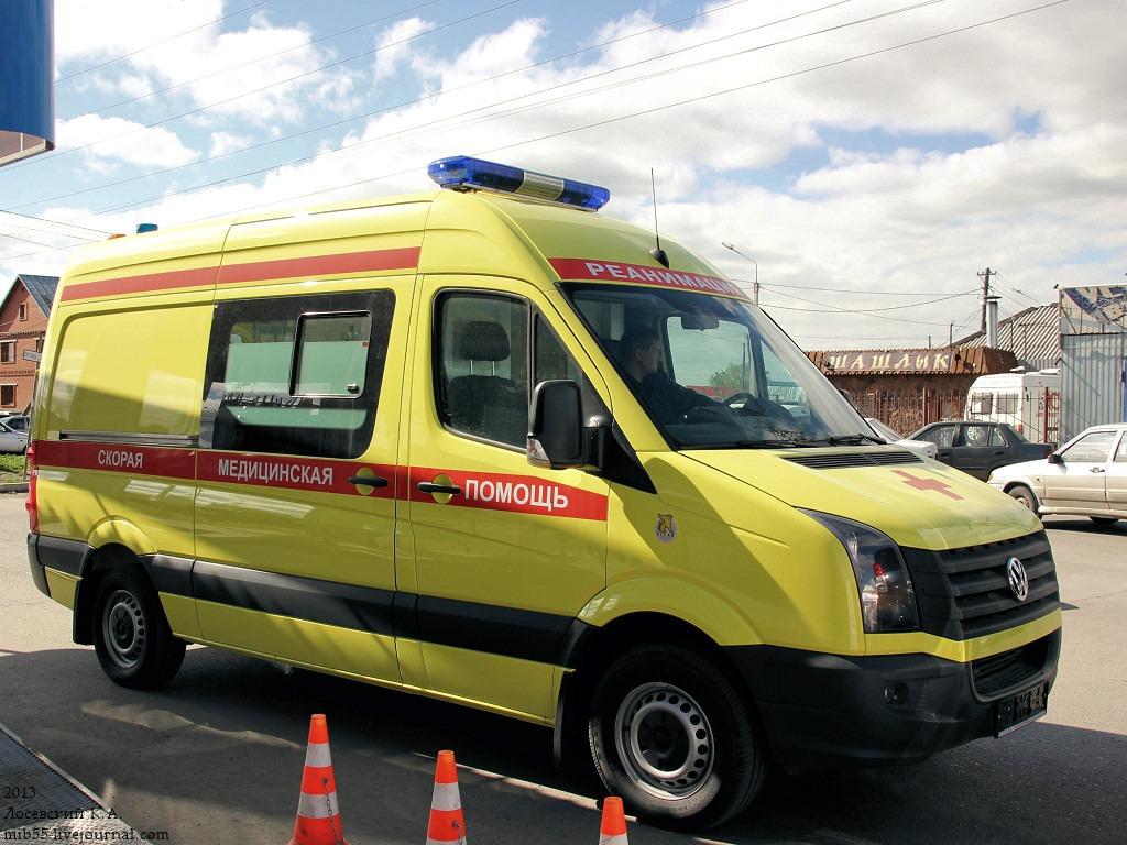В Екатеринбурге реанимобиль попал под обстрел