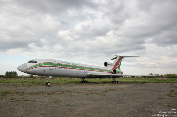 Ту-154Б_ОмскАвиа_1