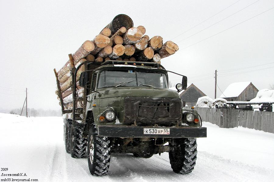ЗиЛ-131_лесовоз