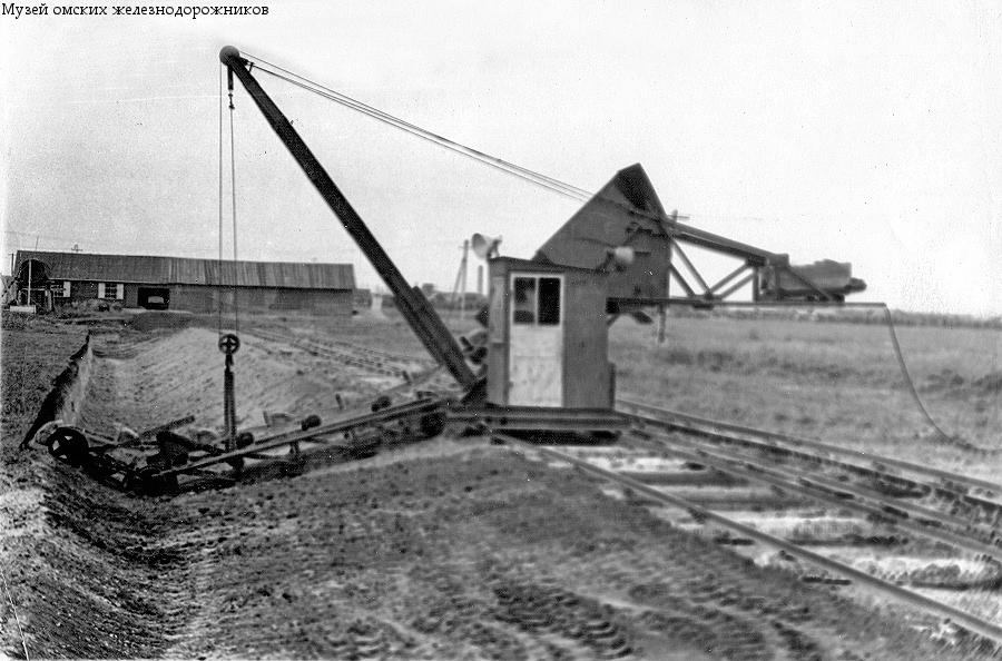 Экскаватор на кирп. заводе 1962 г. МОЖ-3087