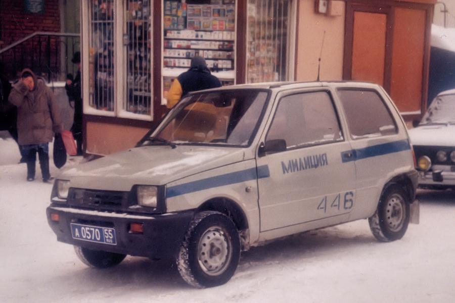ВАЗ-1111 милиция