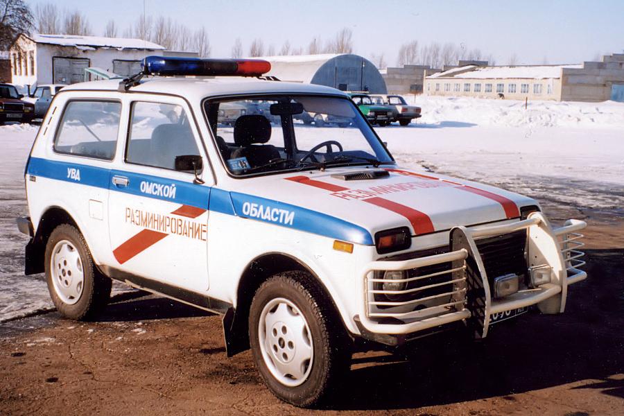 ВАЗ-2121 разминирование