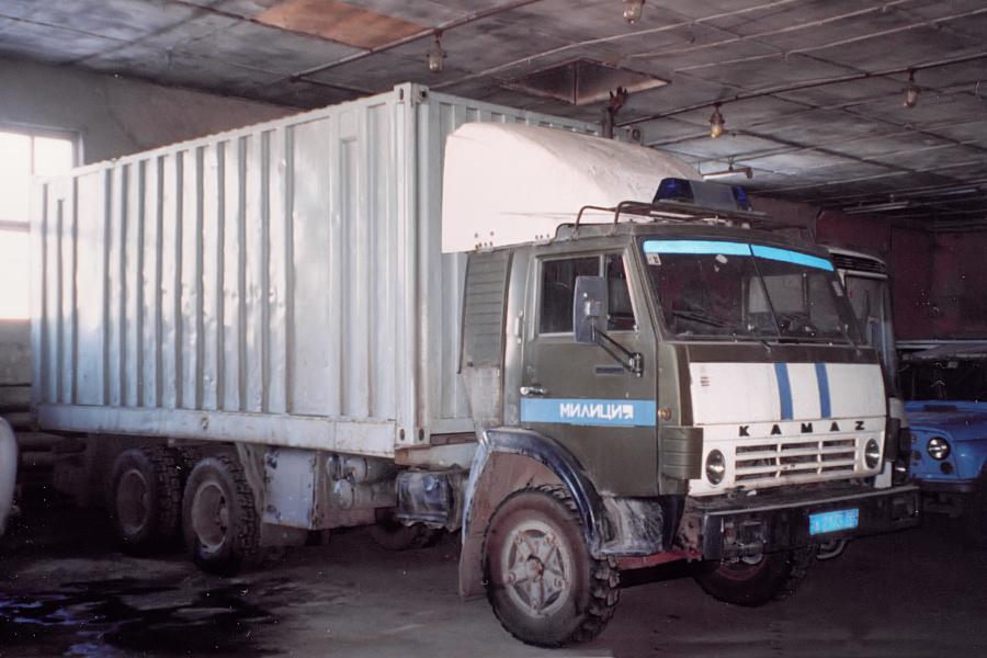 КамАЗ-5320 милиция