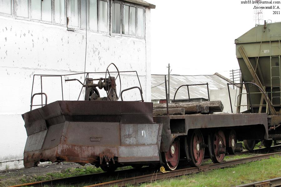 ТГМ-1 снегочист