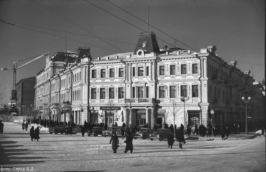 1957 Стройка Партизанская м