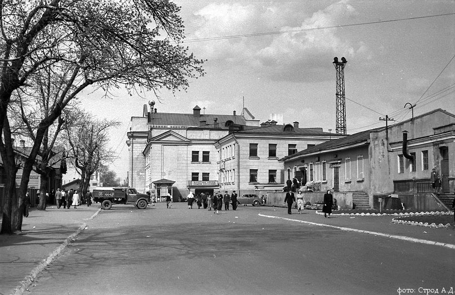 Вокзал 15 ГАЗ-51Т м