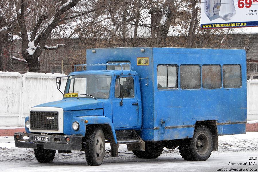 ОАЗ-9437 ГАЗ-3307 Армия