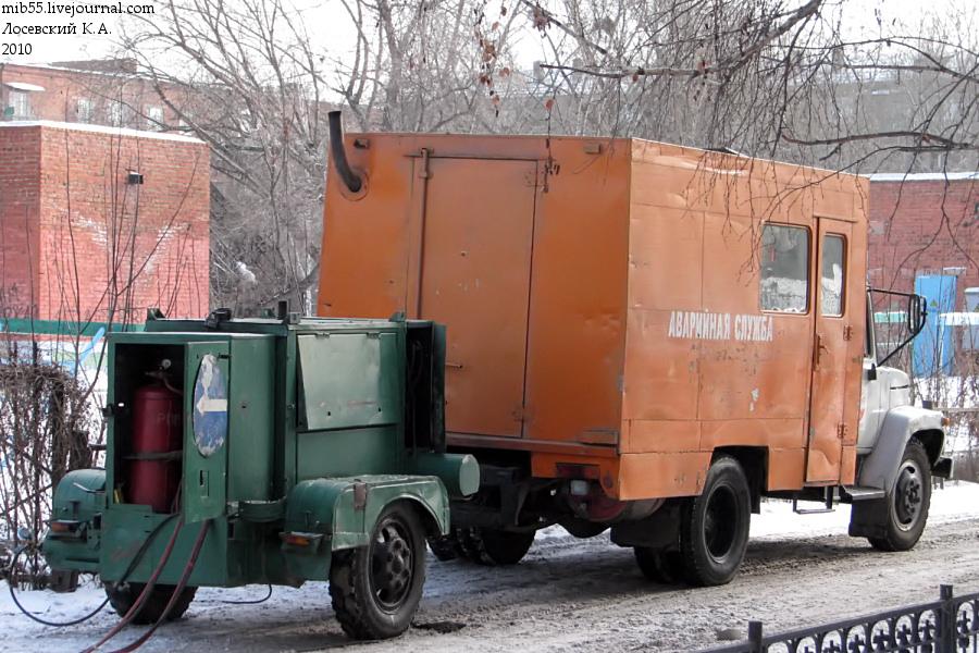 ОАЗ-9437 ГАЗ-3307 ТК