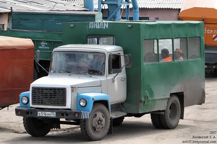 ОАЗ-9437 ГАЗ-3307 УБ