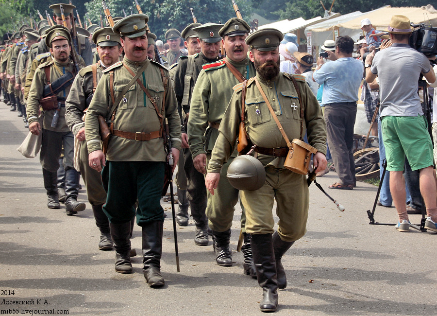 Русские пехота
