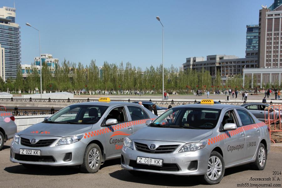 Toyota Corolla taxi