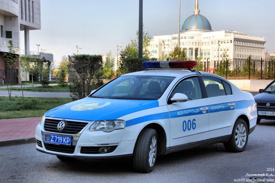 VW Passat полиция