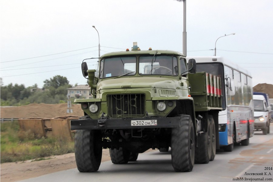 Урал-375 ПАТП-7