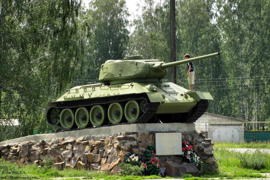 Т-34-85 Уксянское