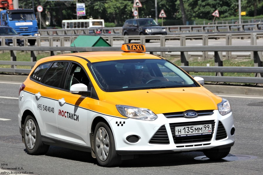 Ford Focus такси