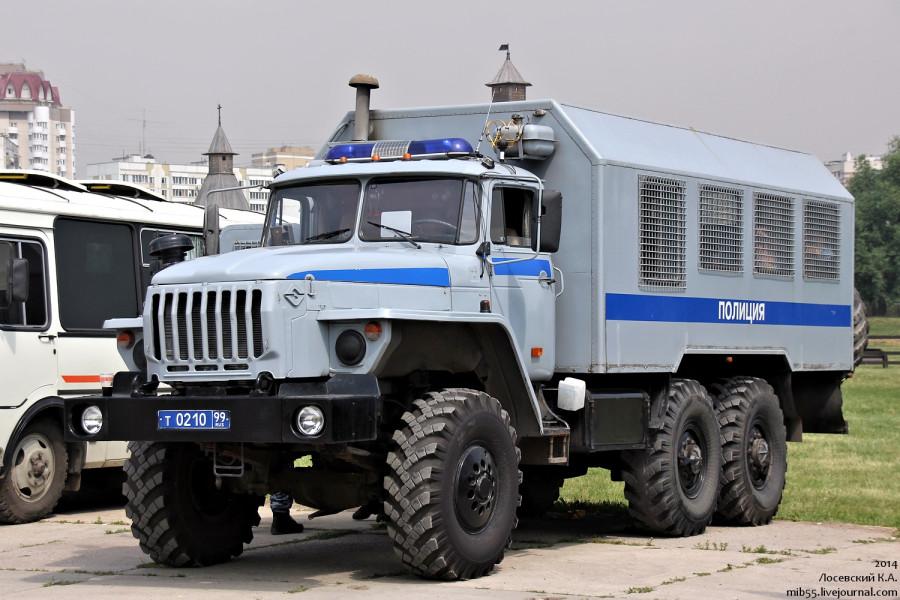 Урал-4320 ОМОН