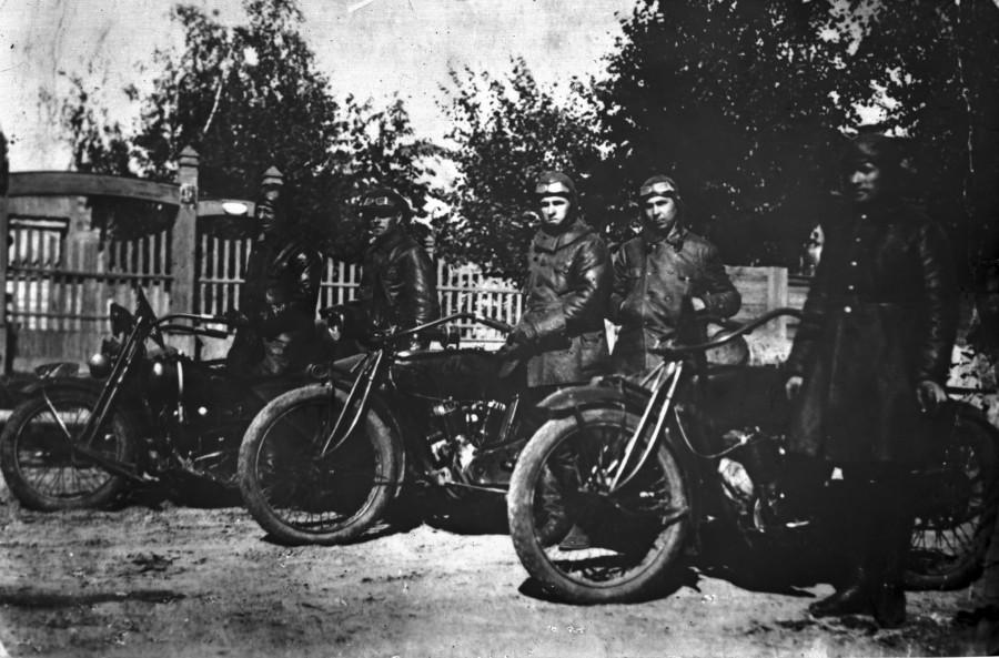 Мотопробег 1928 03