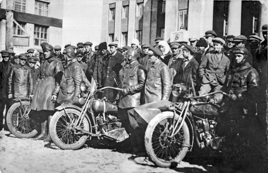 Мотопробег 1928 08