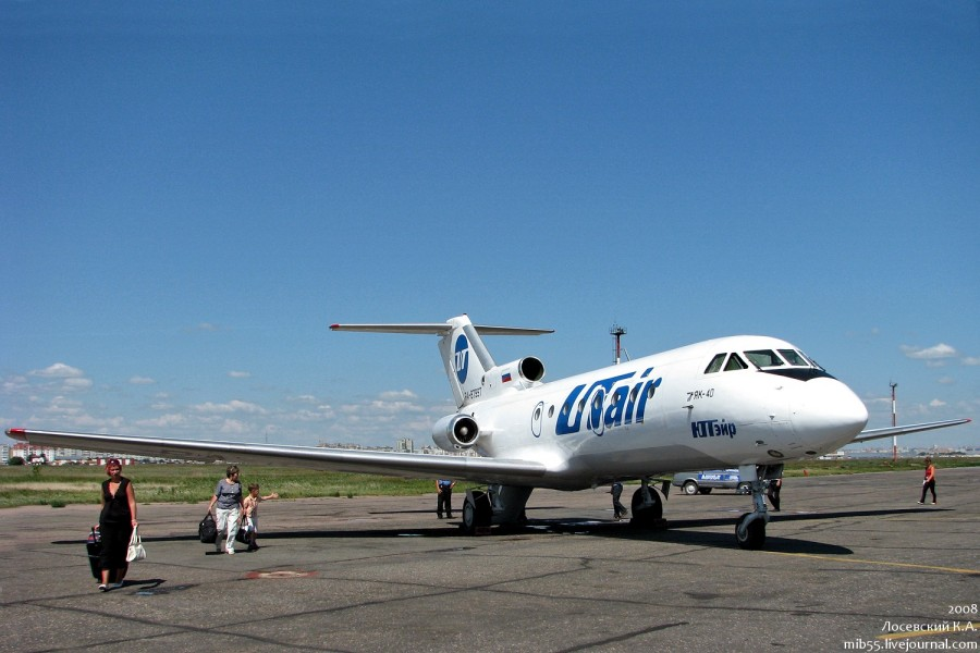Як-40 Омск