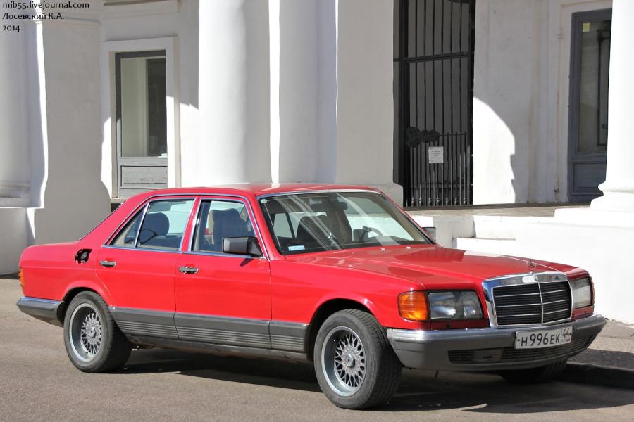 MB W126