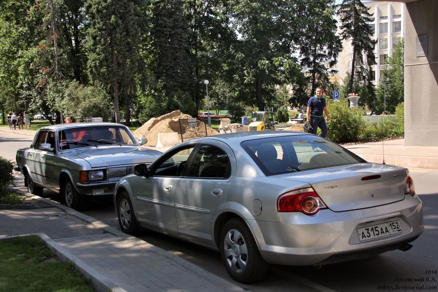 Volga Siber и Волга ГАЗ-3102