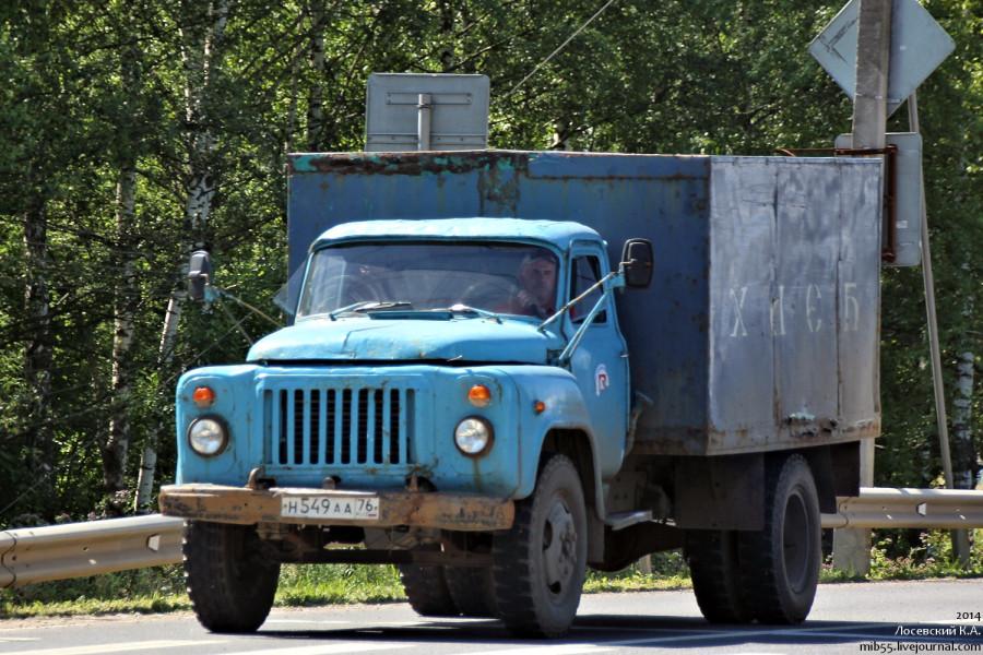 ГАЗ-52 хлебный
