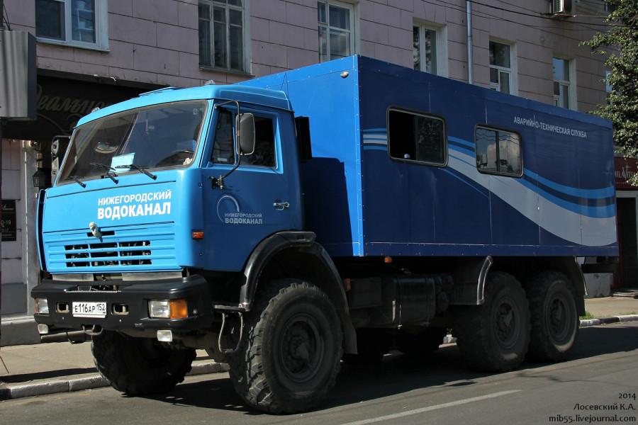 КамАЗ-4310 НН Водоканал