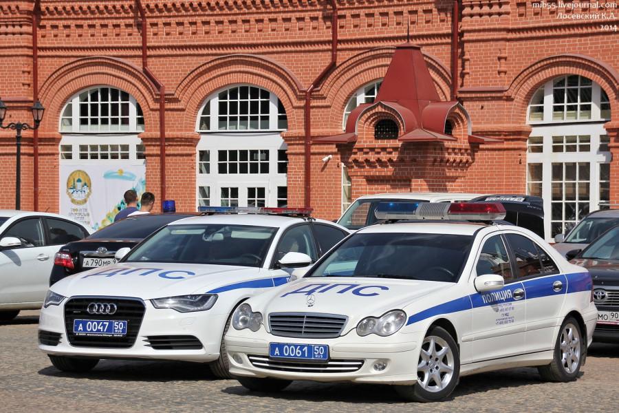 Audi A6 & MB W203 ДПС