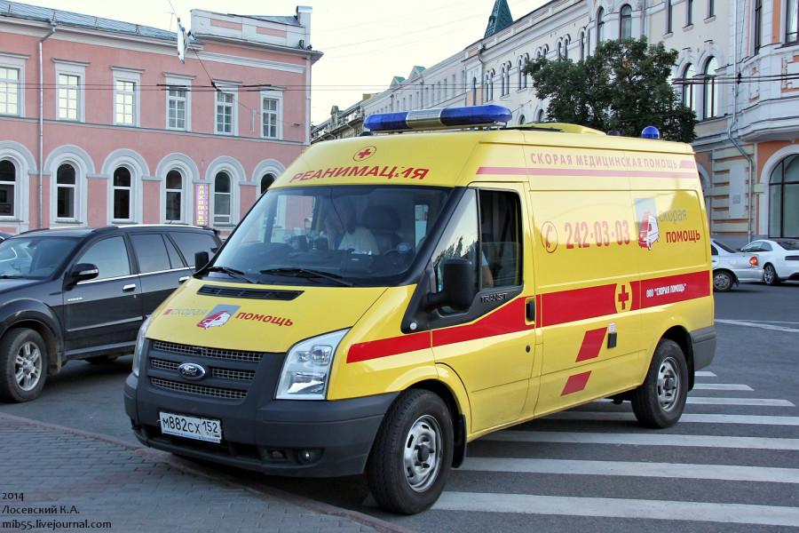 Самотлор АСМП Ford Transit