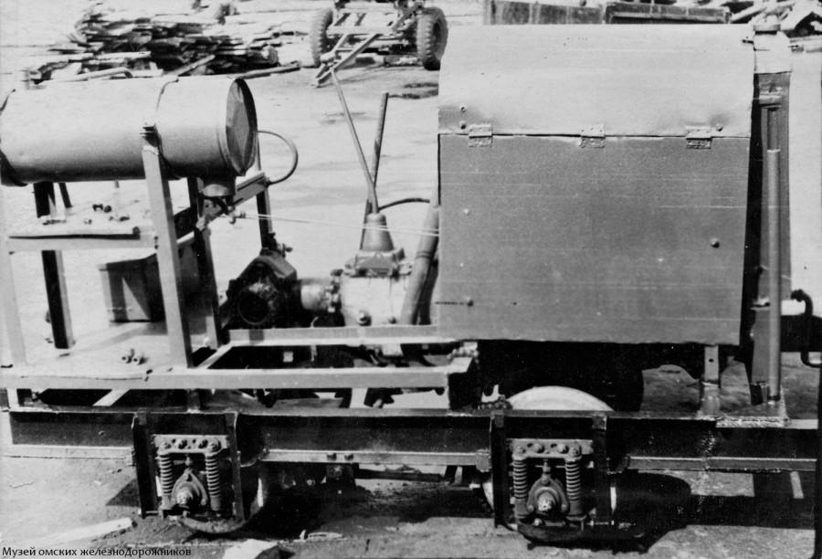 Мотовоз кирпичного завода НГЧ-1