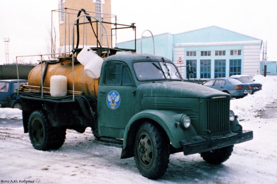 ГАЗ-51 цистерна