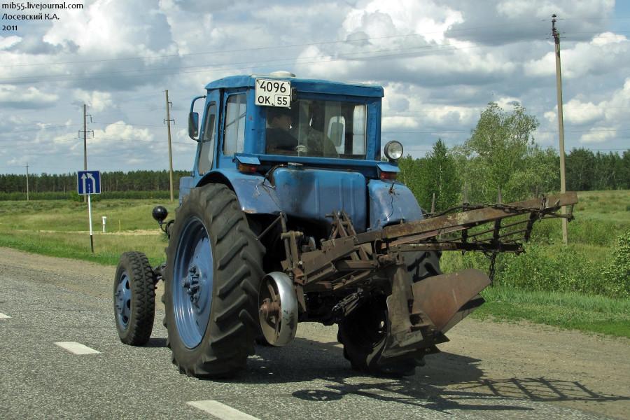 МТЗ-50 прототип 2