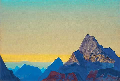 Н.Рерих - Гималаи. Восход