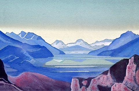 Н.Рерих - Горное озеро